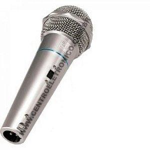 MICROFONE MAO DINAMICO 500R PTA 3MT(NC)