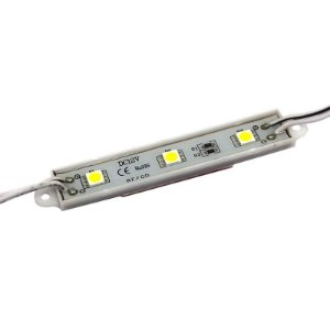REGUA 3LEDS 12VDC 5050 BR-MORNO 75X15X4