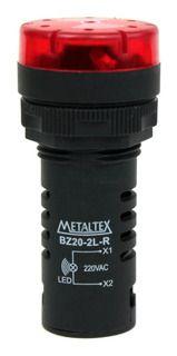 SINALIZADOR 110-220V LED VM BUZZER F22MM