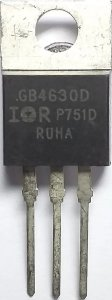 TRANSISTOR IRGB4630D IGBT FET MET TO220