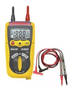 MULTIM(G)DIG HIKARI HM220 600V AC/DC