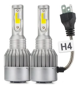 Lampada 12v/24v Super Led H4 20+20w 3d 6200k 2800l Multilas
