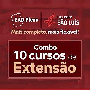 Combo 10 cursos de Extensão - São Luís