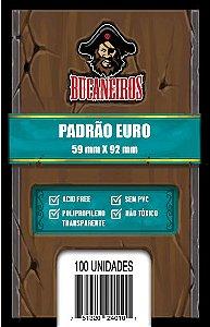Sleeve Euro (59 X 92) - Bucaneiros