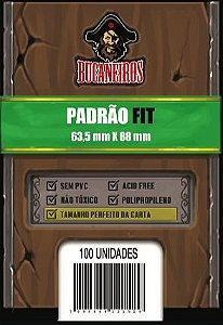 Sleeve Perfect Size / Ultra Fit para Magic e Pokemon - Bucaneiros