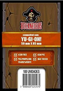 Sleeve Customizado YugiOh! (59 x 85) Bucaneiros
