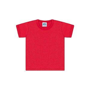 Camisa em meia malha cor vermelho