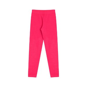 Calça legging em cotton com elastico no cós cor pink
