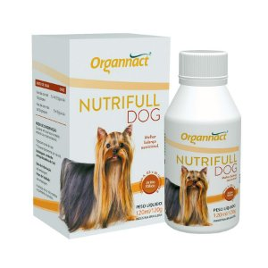 Nutrifull Dog 120ml Organnact Suplemento Cães
