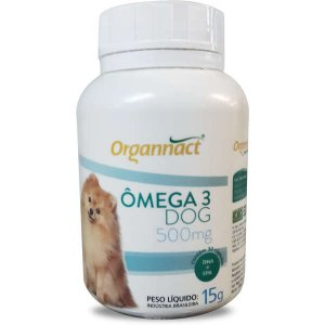 Suplemento Organnact Ômega 3 Dog 500