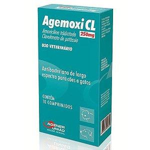 Antibiótico Agener União Agemoxi CL 10 comprimidos 250mg