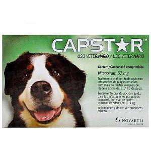 Antipulgas Elanco  Capstar 57 mg para Cães acima de 11,4 Kg