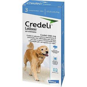 Antipulgas e Carrapatos Elanco Credeli 22 a 45kg para Cães