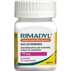 Anti-Inflamatório Zoetis Rimadyl de 14 Comprimidos 75g