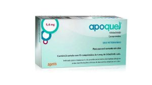 Apoquel Dermatológico Zoetis para Cães de 10 comprimidos 5,4mg