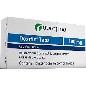 Antimicrobiano Ourofino Doxifin Tabs 14 Comprimidos 100 mg