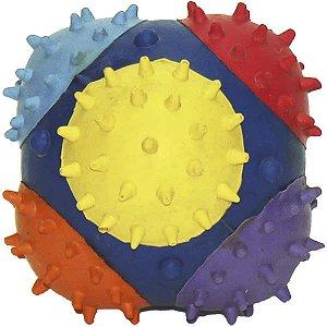Brinquedo Chalesco Bola Colorida com Espinhos
