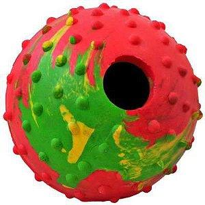 Brinquedo Chalesco Bola para Ração - Cores Variadas