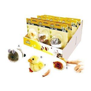 Brinquedo para gato Fofinho com Catnip - Chalesco 1 unidade