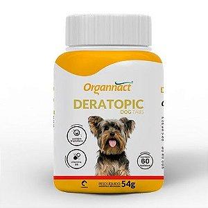 Suplemento Organnact Deratopic Dog Tabs 54g
