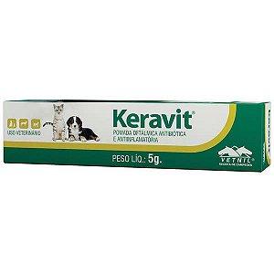 Pomada Oftalmologica Keravit Vetnil - 5 g