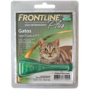 Antipulgas E Carrapatos Frontline Plus  Gatos