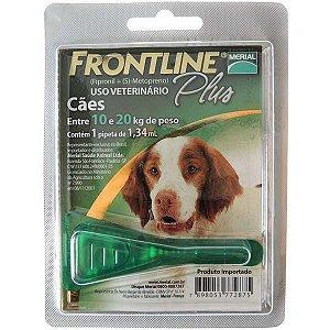 Antipulgas E Carrapatos Frontline Plus  Cães - 10 A 20kg
