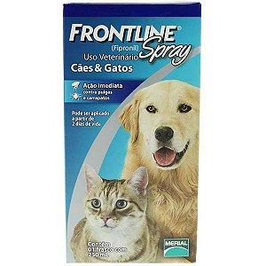 Antipulgas E Carrapatos  Frontline Spray Cães &Gatos 250ml