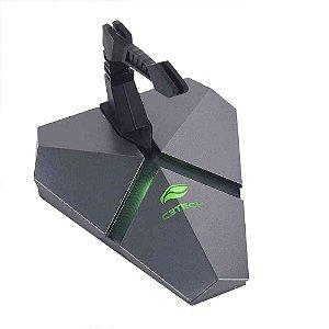 Mouse Bungee com Hub Leitor Micro SD MB-200SI C3Tech