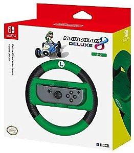 Hori Nintendo Switch Mario Kart 8 Deluxe Wheel Luigi Version