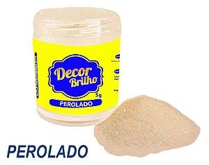 GLITTER PEROLADO 5G DECOR BRILHO
