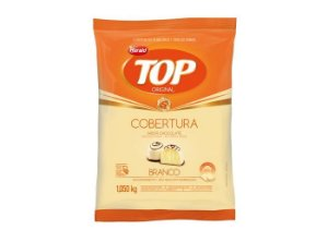 COBERTURA FRACIONADA GOTAS SABOR CHOCOLATE BRANCO TOP 1,010KG HARALD