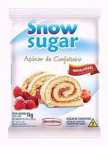 Açucar de Confeiteiro Impalpavel Snow Sugar 1 Kg - MAVALÉRIO