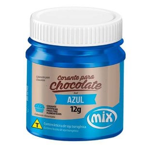 CORANTE P/ CHOCOLATE 12G AZUL MIX