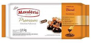 COBERTURA PREMIUM SABOR CHOCOLATE AO LEITE E MEIO AMARGO BLEND 1,01KG MAVALÉRIO