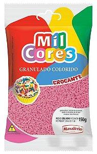 GRANULADO CROCANTE ROSA MIL CORES 150G MAVALERIO