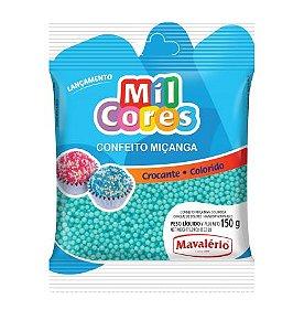CONFEITO MIÇANGA BABY AZUL Nº 0 MIL CORES 150G MAVALERIO