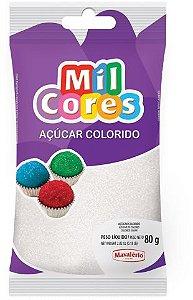 AÇÚCAR COLORIDO BRANCO MIL CORES 80G MAVALERIO