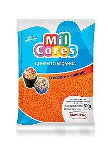 DUPLICADO - CONFEITO MIÇANGA VERMELHO Nº 0 MIL CORES 500G MAVALERIO