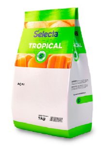 BASE P/GELADOS AÇAÍ COLORIDA TROPICAL COMESTIVEL 1KG SELECTA