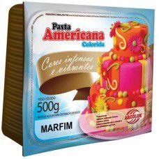 PASTA AMERICANA COLORIDA MARFIM 500G ARCOLOR