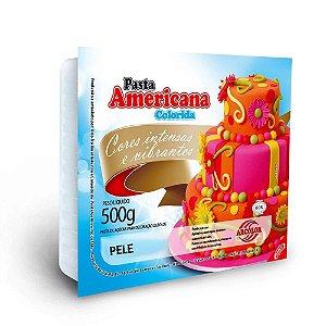 PASTA AMERICANA COLORIDA PELE 500G ARCOLOR