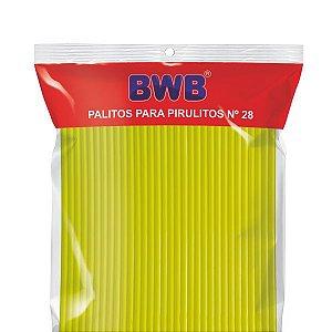 TUBO DE PET Nº 28 AMARELO SÓLIDO CÓD.9485 BWB