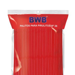 TUBO DE PET Nº 28 VERMELHO SÓLIDO CÓD.9490 BWB