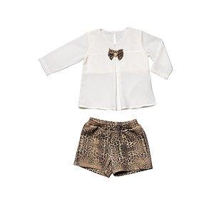 Conjunto Bata e Shorts