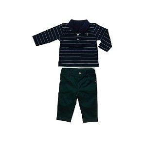 Conjunto Camisa Polo e Calça