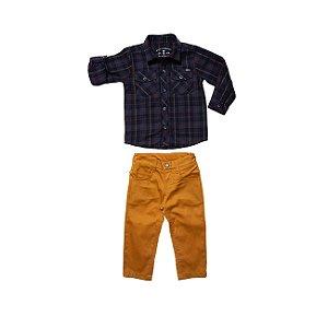 Conjunto Camisa e Calça