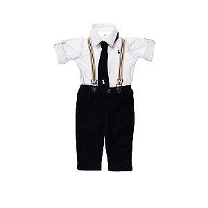 Conjunto Camisa e Calça e Gravata