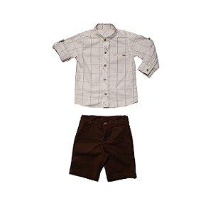 Conjunto Camisa e Bermuda