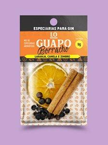 Lo Guapo Borracho - Laranja, Canela e Zimbro 9g